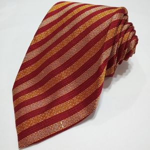 Isaia 100% Silk Striped Tie
